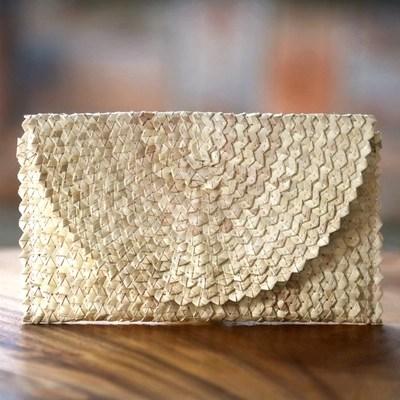 Telugu fashion news - Palm leaves handbags
