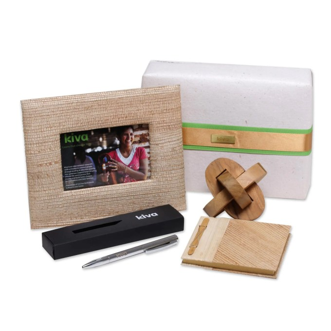 Kiva Bali Handcrafted Four Piece Gift Set