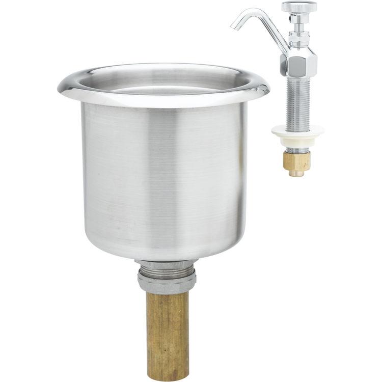 t s brass b 2282 01 dipperwell faucet