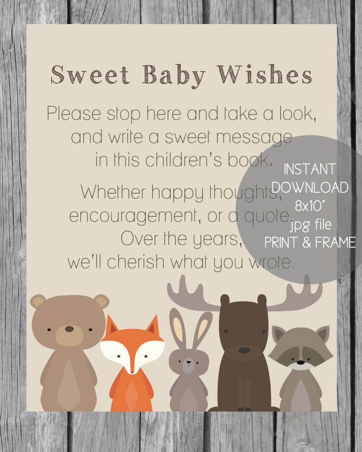 Baby Shower Invitations Book Theme