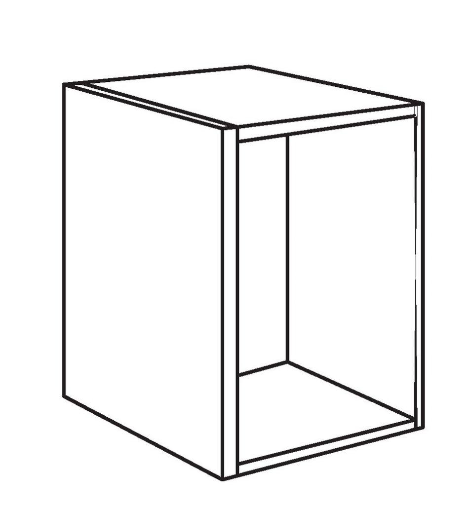 caisson de cuisine caisson bas profondeur 580 mm