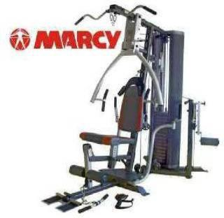 Marcy Pm4400 Leverage Home Gym With Weight Bench Exercise