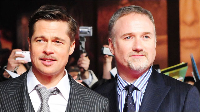 Image result for david fincher brad pitt