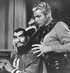 Ming the Merciless dealing with a rabid fanatical Libertarian.