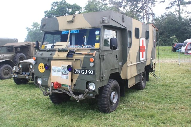 Land Rover 101 Ambulance