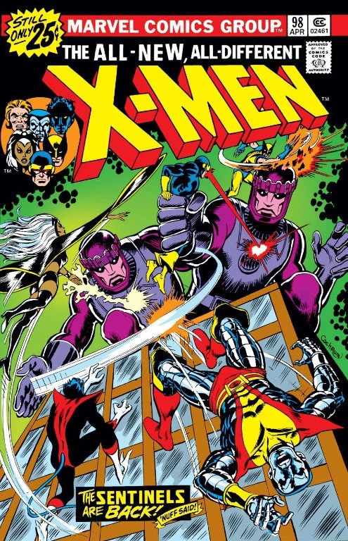 Merry Christmas, X-Men - The Sentinels Have Returned!