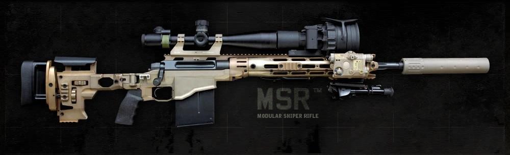 Die Remington MSR, wie in der Story
