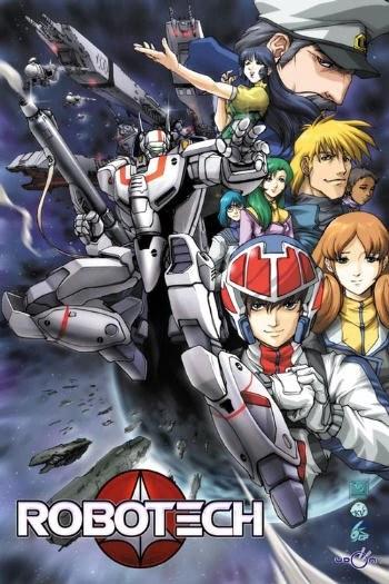 Poster de Robotech