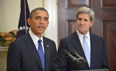 President Obama supported Kerry all the way (Photo: AFP)