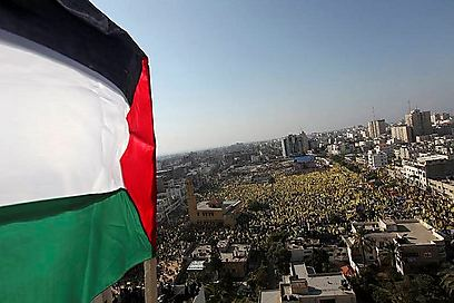 Gaza celebrates 48 years to Fatah's establishment  (Photo: EPA)