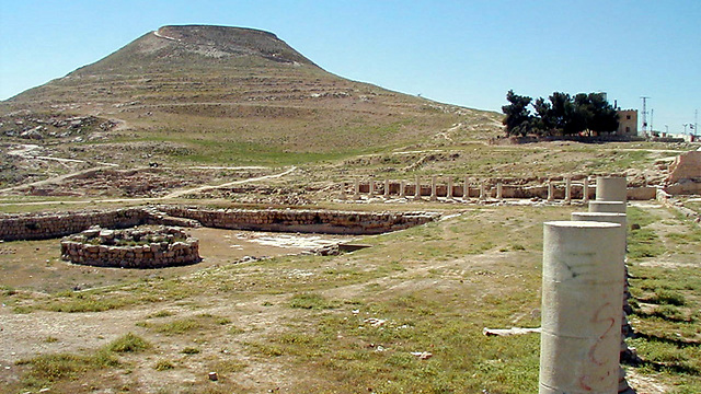 The ruins at Herodium (archive photo)