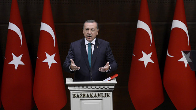 Turkey's Erdogan. 'Interest rate lobby' (Photo: EPA)