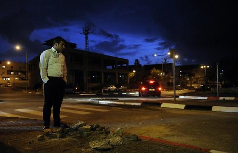 נפילות ביישובי הדרום (צילום: AFP)