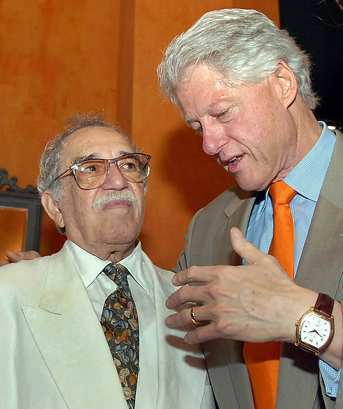 Marquez and former US President Bill Clinton (Photo: AFP)