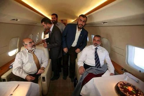 Private plane for Haniyeh