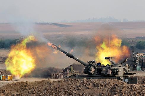 Incendios del tanque en Gaza (Foto: EPA)