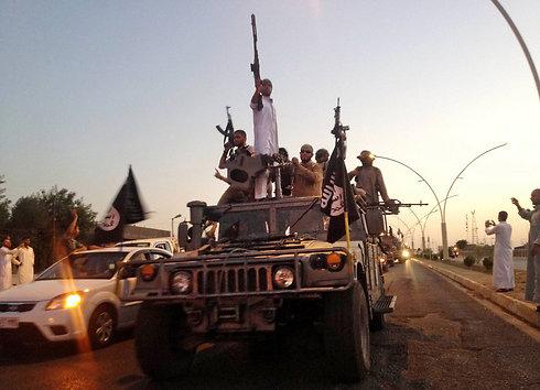 Miembros del Estado Islámico en Irak (Archivo Foto: AP)