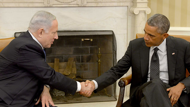 Obama and Netanyahu at the White House last month. 'Netanyahu got the US to move closer to his positions.' (Photo: GPO)