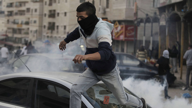 Clashes in Jerusalem: Not an intifada (Photo: AFP)