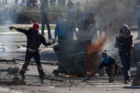 Los disturbios en Kafr Kanna (Foto: AP)