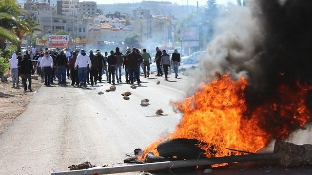 Los disturbios en Kafr Kanna