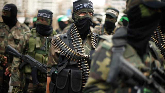 Hamas rally in Gaza (Photo: Reuters)