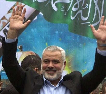 Hamas-Führer Ismail Haniyeh. In der freien Welt als Terroristenorganisation beurteilt.