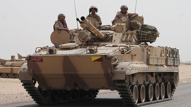 The Saudis are fighting the Houthi rebels using American weapons (Photo: AFP)