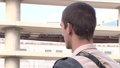 Sec. Lt. Daniel (Photo: IDF Spokesperson)