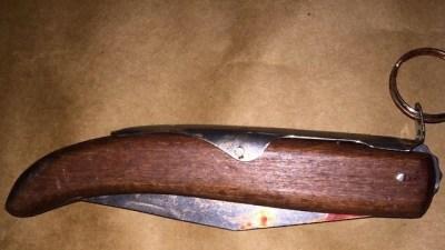 הסכין איתה דקר המחבל