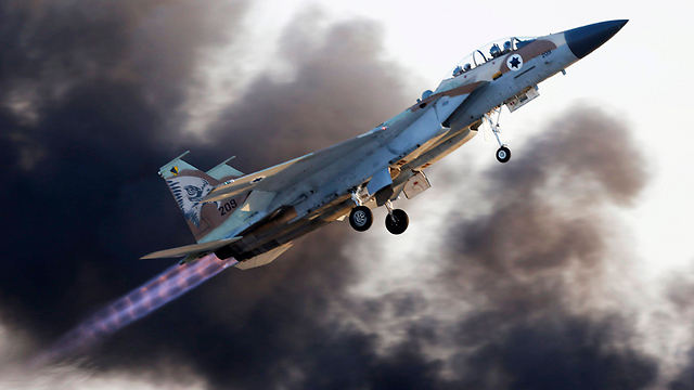 The IAF's F-15 fighter jets (Photo: EPA)