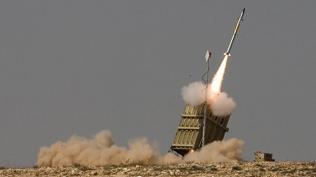 Iron Dome in action (Photo: AP)