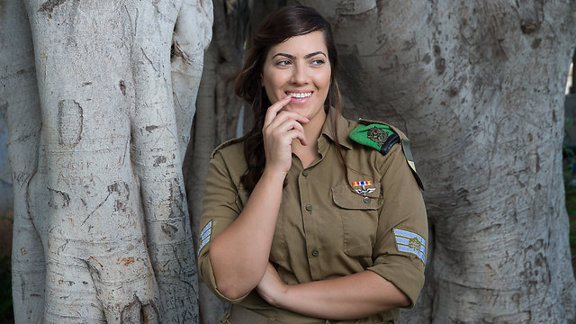 Staff Sgt. Sahar Shmueli (Photo: Tal Shahar)
