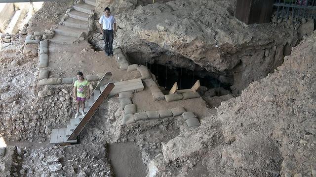 Qesem Cave (Photo: Ron Barkai, Tel Aviv University)