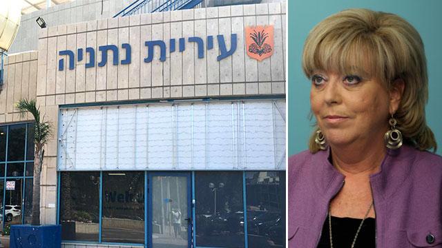 ראש העיר נתניה, מרים פיירברג (צילום: מתן טורקיה, עמית שאבי)