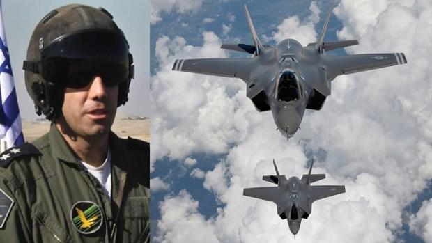 Командир эскадрильи F-35. Фото: Рои Идан и MCT
