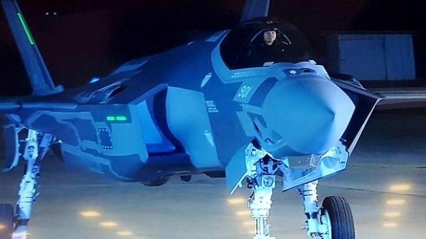 F-35 пирбыл в Израиль. Фото: RR Media
