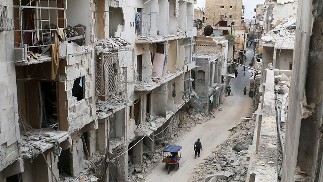 Destruction in Aleppo (Photo: Reuters)