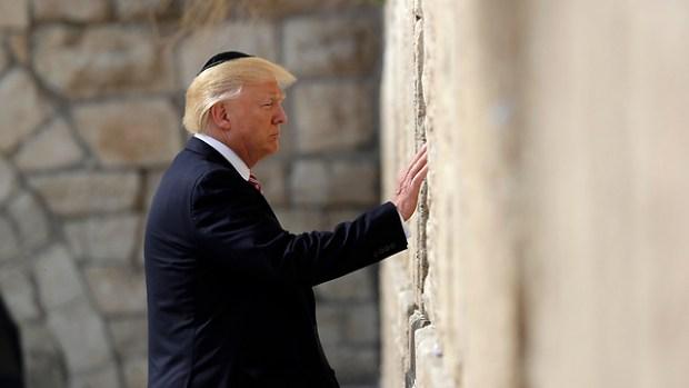 Дональд Трамп у Стены плача. Фото: АР (Photo: AP)