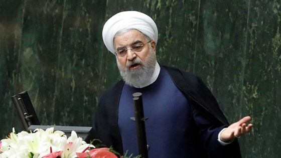 Iranian President Rouhani (Photo: AFP)