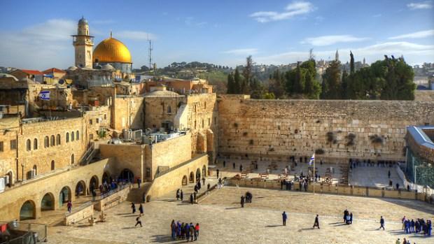 Храмовая гора и Стена плача