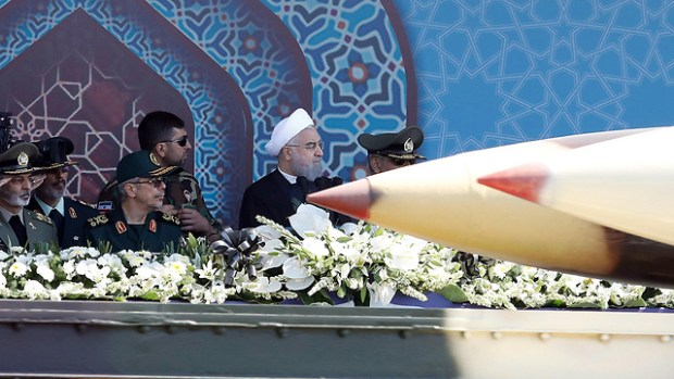 Баллистические ракеты на параде в Тегеране. Фото: EPA (Photo: EPA)
