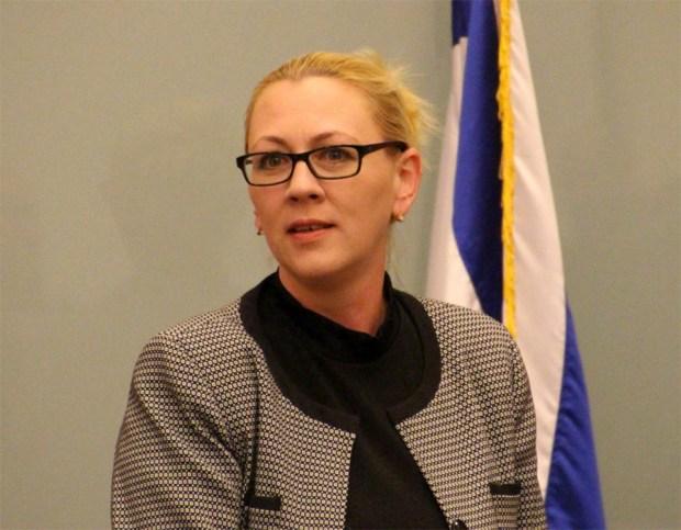 Депутат Юлия Малиновская (НДИ)