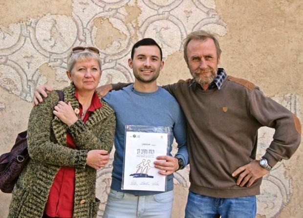 Семья Барзовски-Нави - Светлана, Григорий и Иван Фото: Алексей С. Железнов