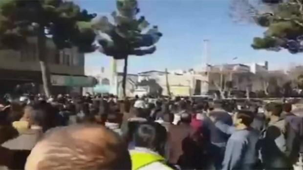 Демонстрация в Мешхеде