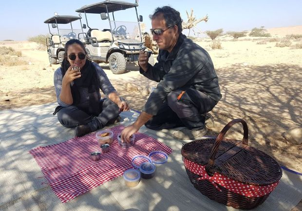 Мейрав и Нимрод Амит. Фото: Барэль Эфраим