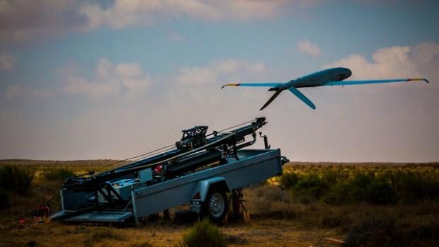 "БПЛА ""Небесный наездник"". Фото: пресс-служба ЦАХАЛа (Photo: IDF Spokesperson's Unit)"