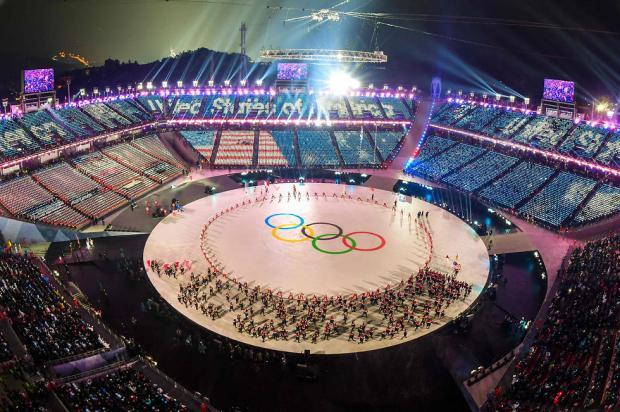 Церемония открытия Игр. Фото: AFP