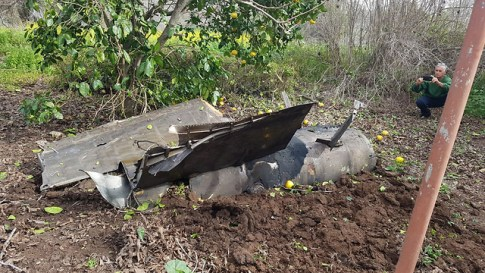 syrian missile downs Israeli f-16