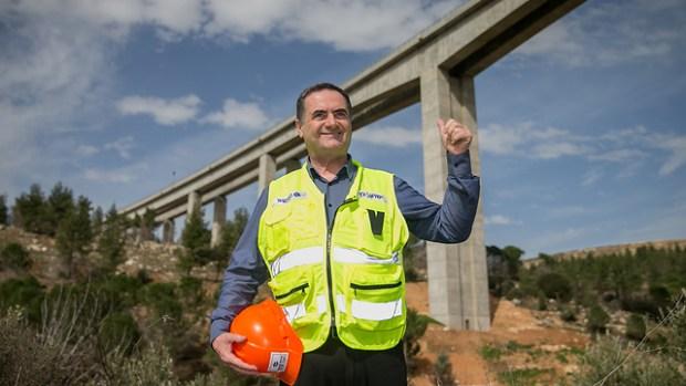 Министр транспорта Исраэль Кац. Фото: Охад Цвайгенберг